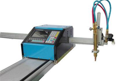 دستگاه برش CNC Gantry با هر دو مشعل شعله و پلاسما