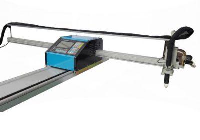 قابل حمل cnc شعله / دستگاه برش پلاسما فولاد 8mm CNC برش فلز برنج مس