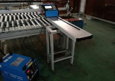 سرگرمی 1500 * 3000mm لوله CNC دستگاه برش پلاسما