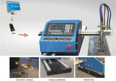 CE / ISO تایید ورق فلزی CNC ماشین برش پلاسما
